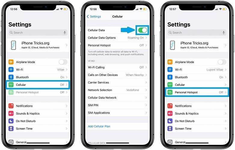 HnamMobile - Cách sửa lỗi điểm truy cập cá nhân trên iOS 14 - 1