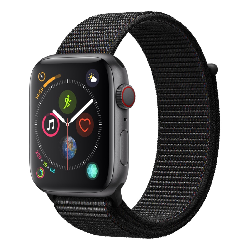 Apple Watch Series 4 40mm LTE Gold Aluminum Case with Pink Sand Sport Band MTUJ2