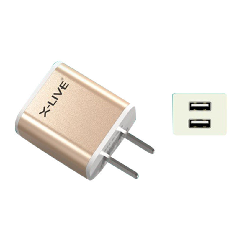 sạc X-Live Smart A9 (2 cổng USB, 2.1A)