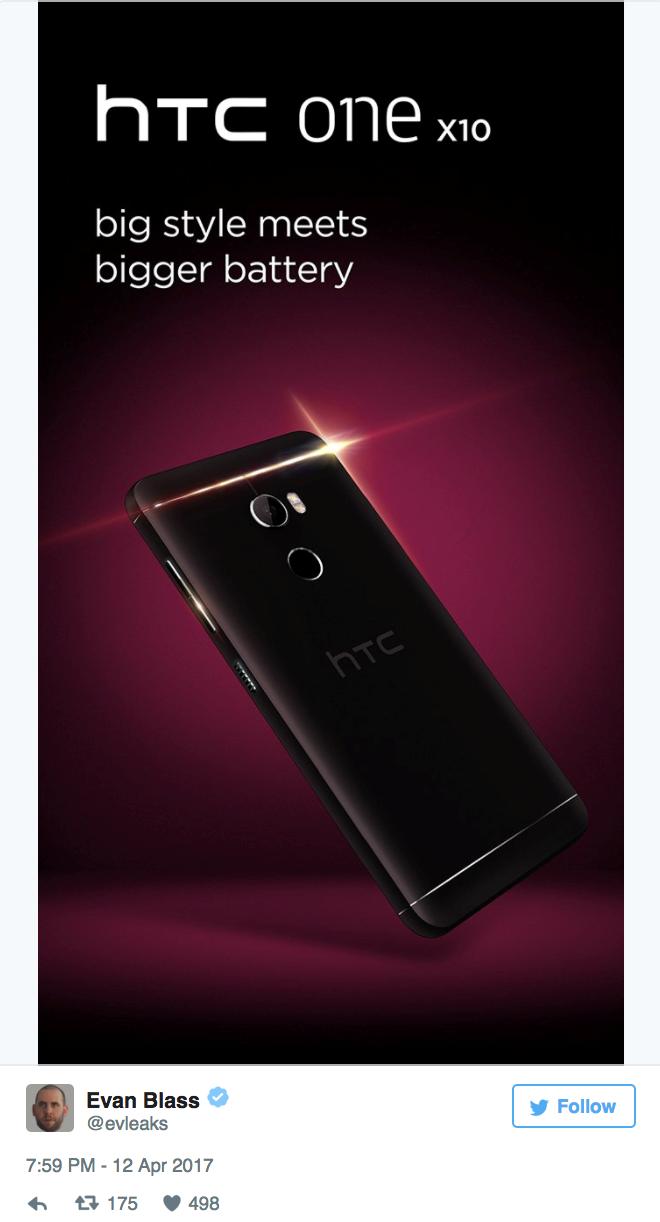 HTC One X10: Kích thước lớn và pin khủng hơn ảnh 2