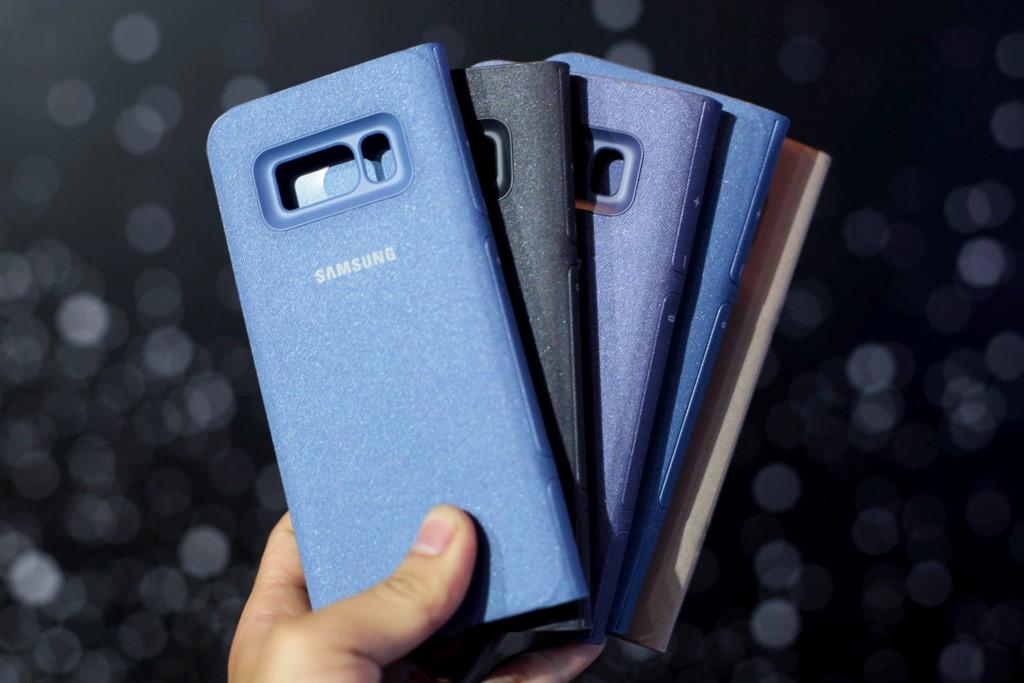 Anh thuc te Samsung Galaxy S8/S8+ va loat phu kien hap dan vua ve VN hinh anh 11