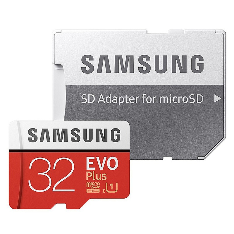 Thẻ nhớ Samsung MicroSDHC 32GB Evo Plus-FHD