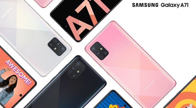 Samsung GalaxyA71