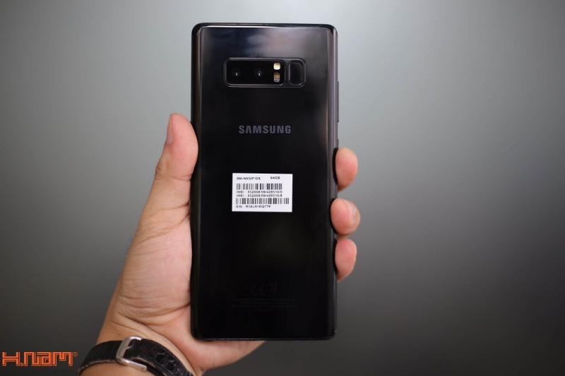 Đập hộp và trên tay Galaxy Note8 chính hãng tại Việt Nam hình 8