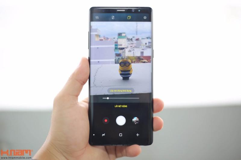 Đập hộp và trên tay Galaxy Note8 chính hãng tại Việt Nam hình 10