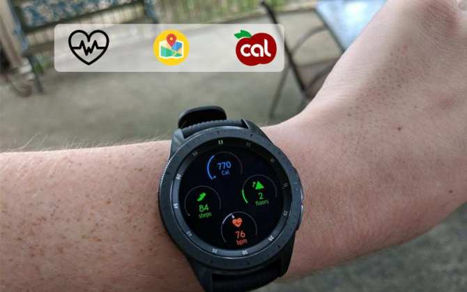 Galaxy Watch 42mm Gold R810