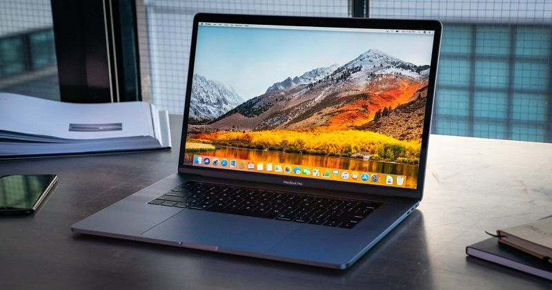 thiết kế của macbook pro 2020