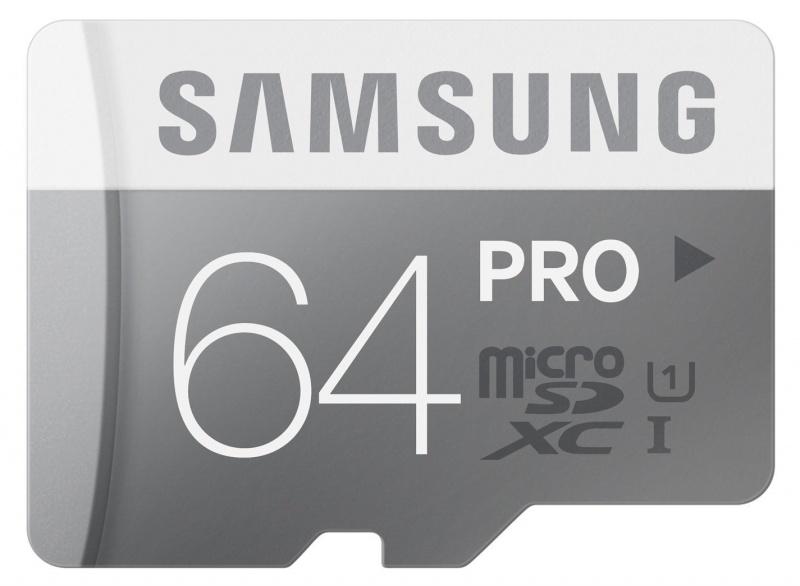 Thẻ nhớ Samsung MicroSDHC 64GB Class 10 Pro 2 UHS-1