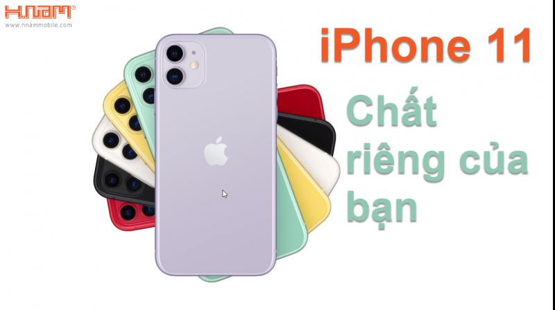 màu sắc của iPhone 11