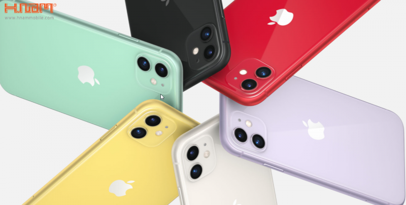 thiết kế của iPhone 11