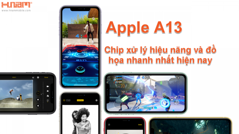 chip của iPhone 11