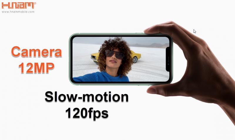 tính năng slow motion của iPhone 11