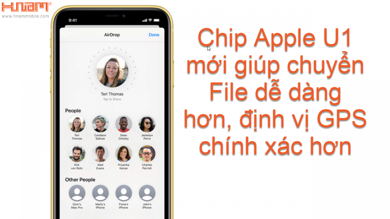 chip apple U1 của iPhone 11