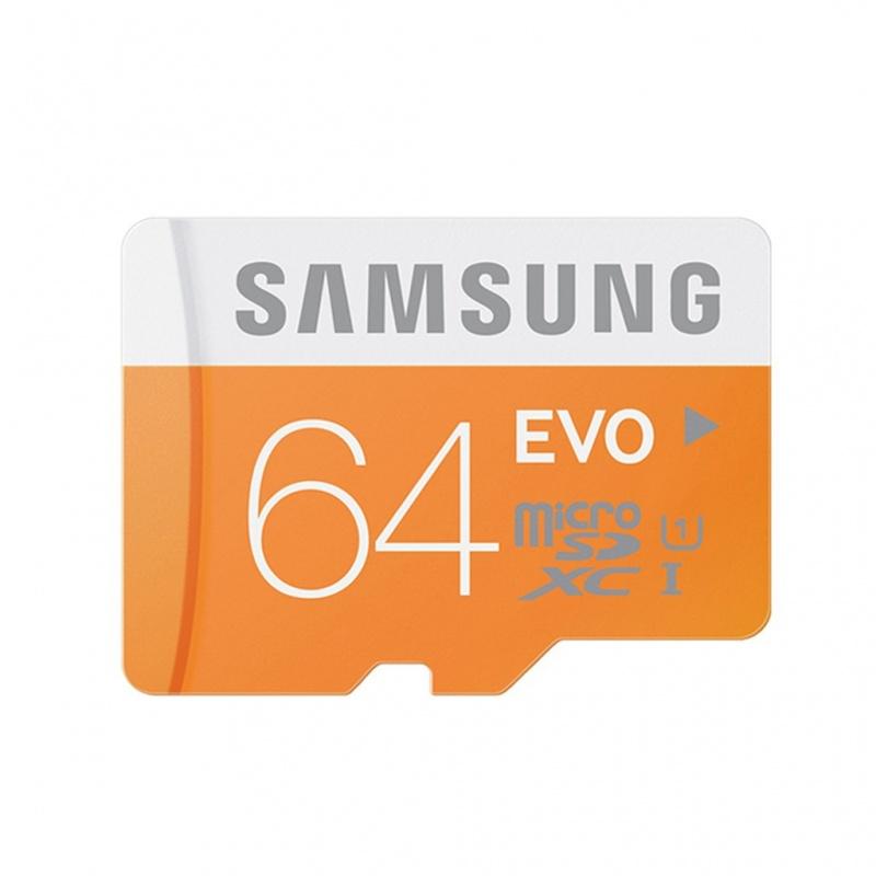 Thẻ nhớ Samsung MicroSDHC 64GB Class 10 EVO UHS-1