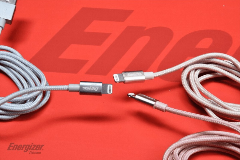 Energizer cable Lightning Metallic Aluminum (1.2m)