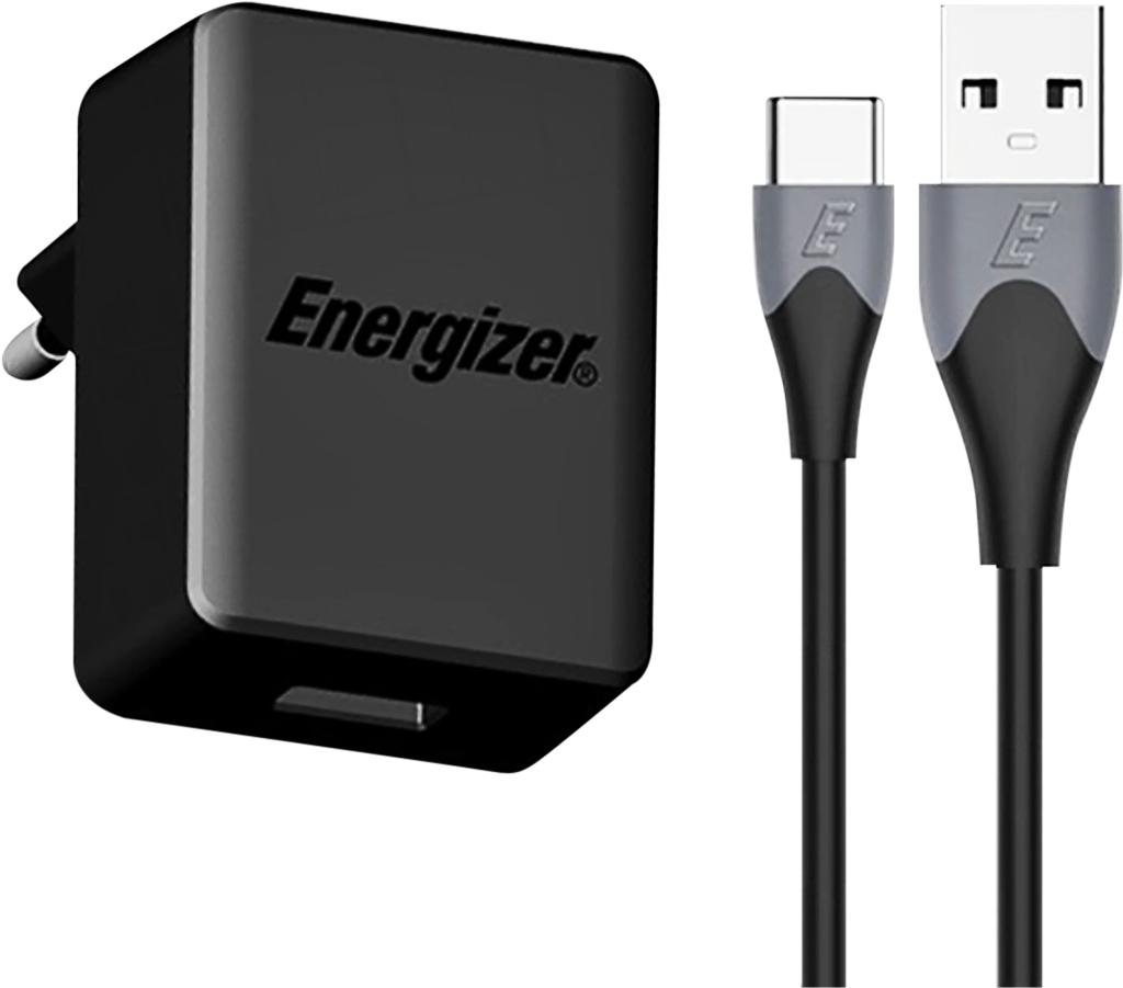 sạc Energizer 18W QC3.0 (kèm cáp Type C) AC1Q3EUUC23