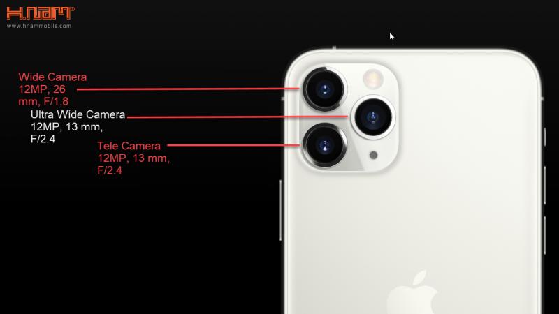 camera iPhone 11 Pro