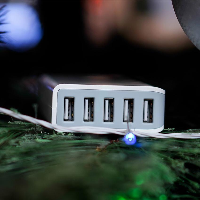 Sạc Energizer 5 cổng USB Station 25W EU: sạc cùng lúc nhiều thiết bị, công nghệ hiện đại hình 3