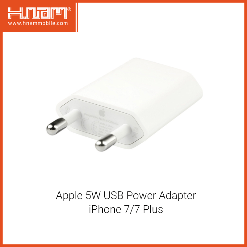 Apple 5W USB Power Adapter iPhone 7/7 Plus