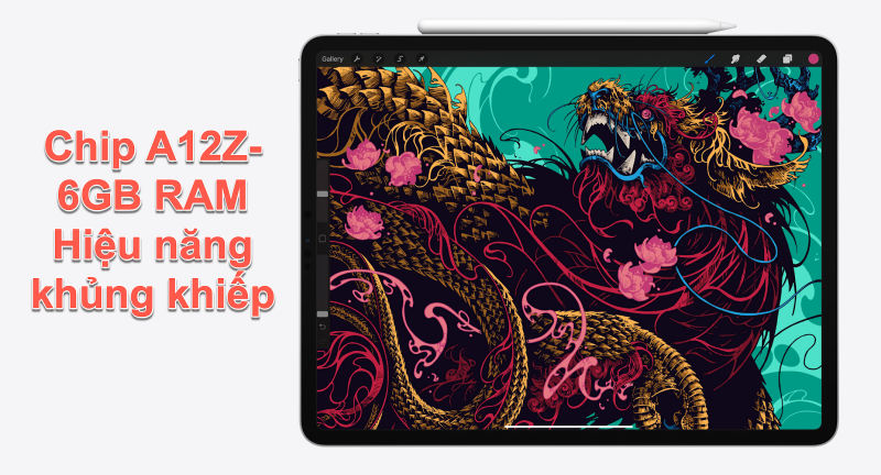 hiệu năng iPad Pro 12.9