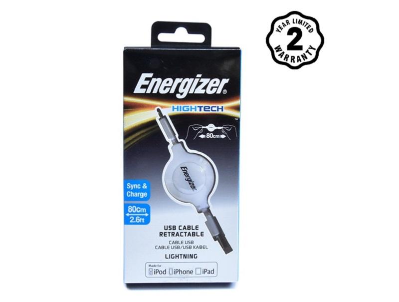 Energizer cable Lightning Ret (80cm)