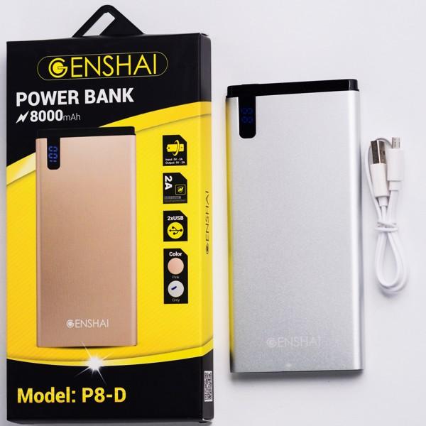 pin dự phòng Genshai P8-D 8000mAh