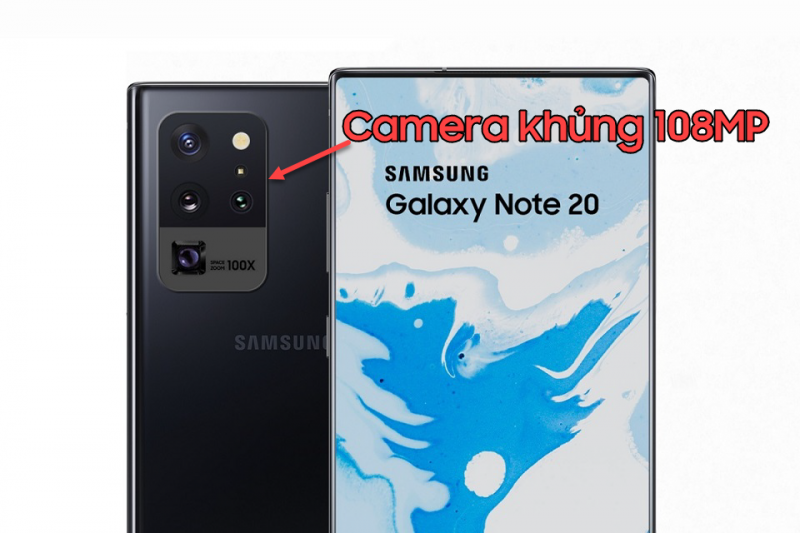 Samsung Galaxy Note 20 camera khủng