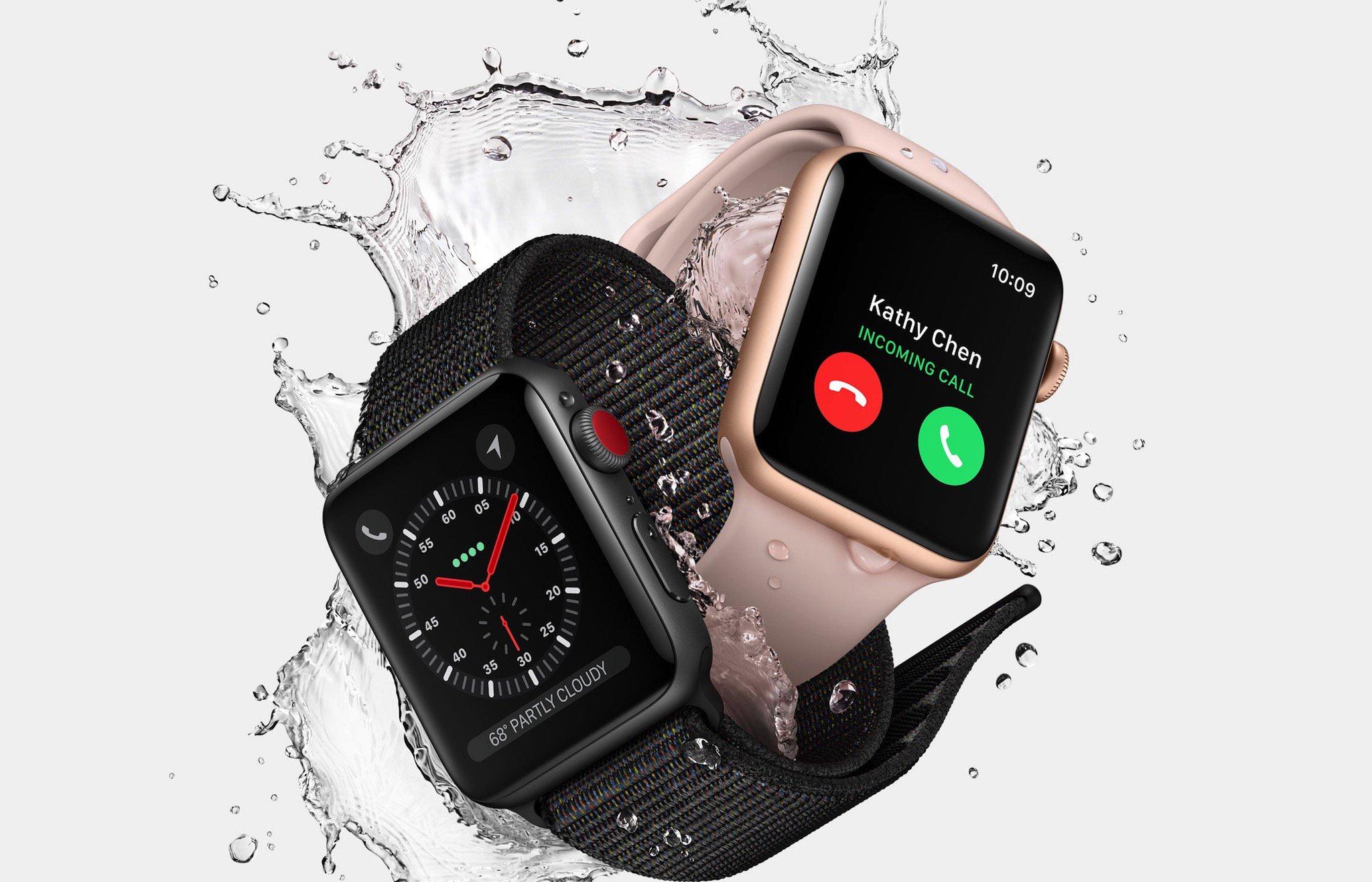 Apple Watch Series 3: Hỗ trợ LTE, chip W2 mạnh hơn 70%, giá từ 329 USD hình 4