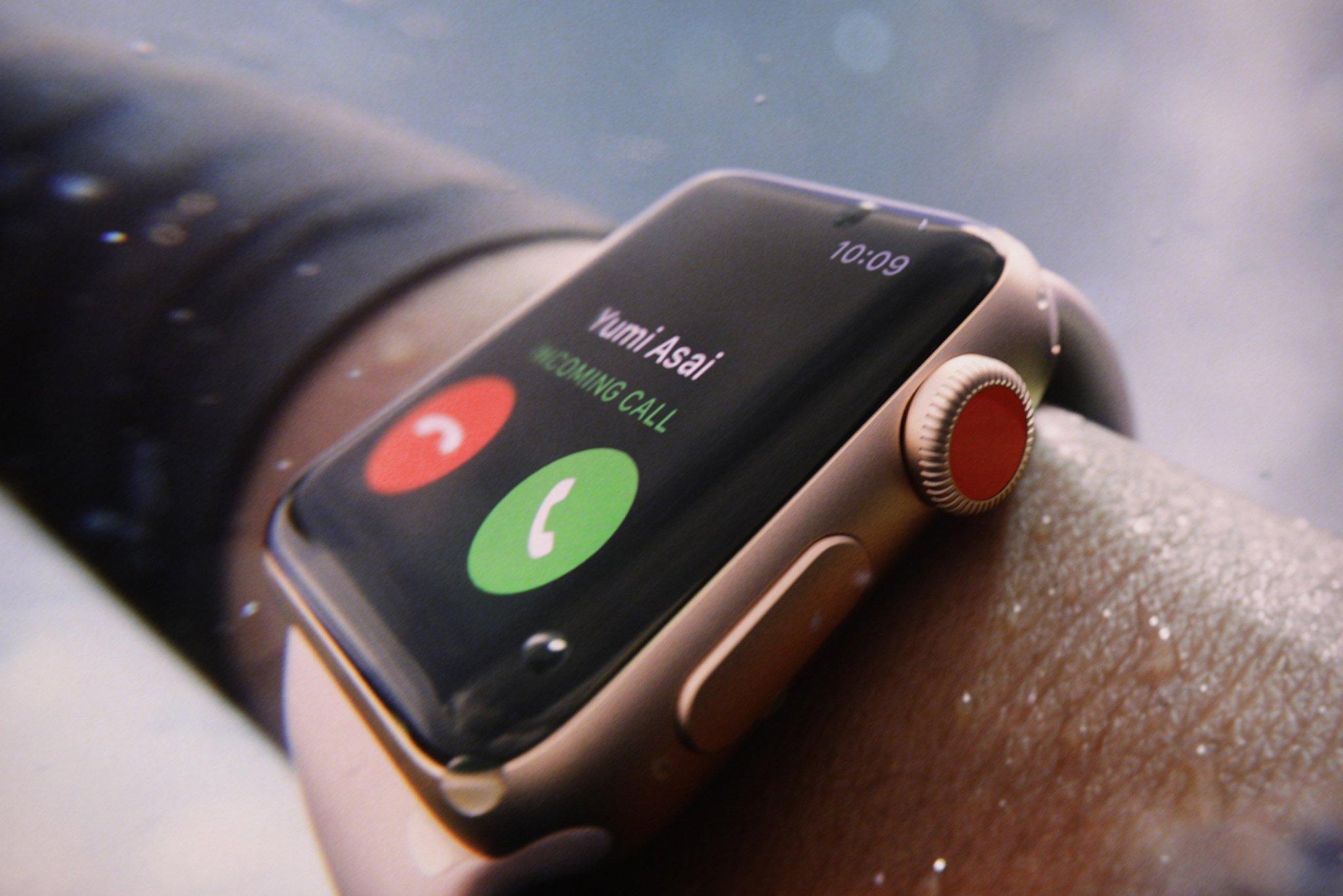 Apple Watch Series 3: Hỗ trợ LTE, chip W2 mạnh hơn 70%, giá từ 329 USD hình 3
