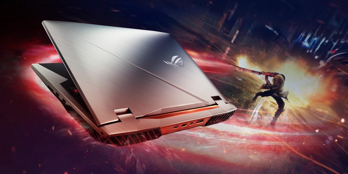 ASUS ra mắt laptop gaming ROG G703 trang bị màn hình 144Hz đầu tiên trên thế giới hình 1
