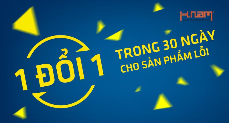 Kể từ nay, Hnam Mobile 1 đổi 1 trong 30 ngày cho sản phẩm lỗi hình 1