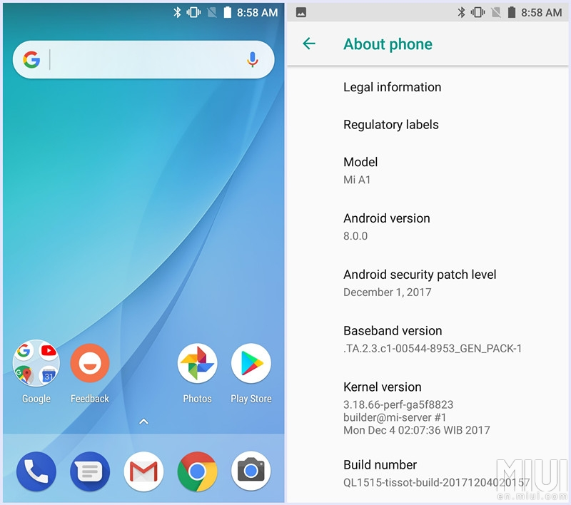 Hướng dẫn đăng ký Android 8.0 Oreo cho Xiaomi Mi A1 hình 4
