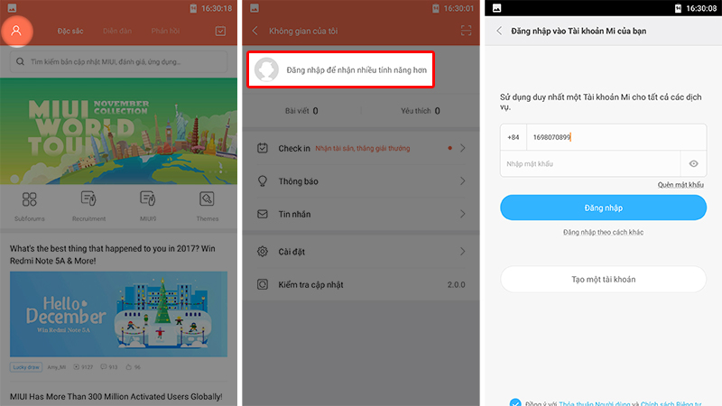 Hướng dẫn đăng ký Android 8.0 Oreo cho Xiaomi Mi A1 hình 2