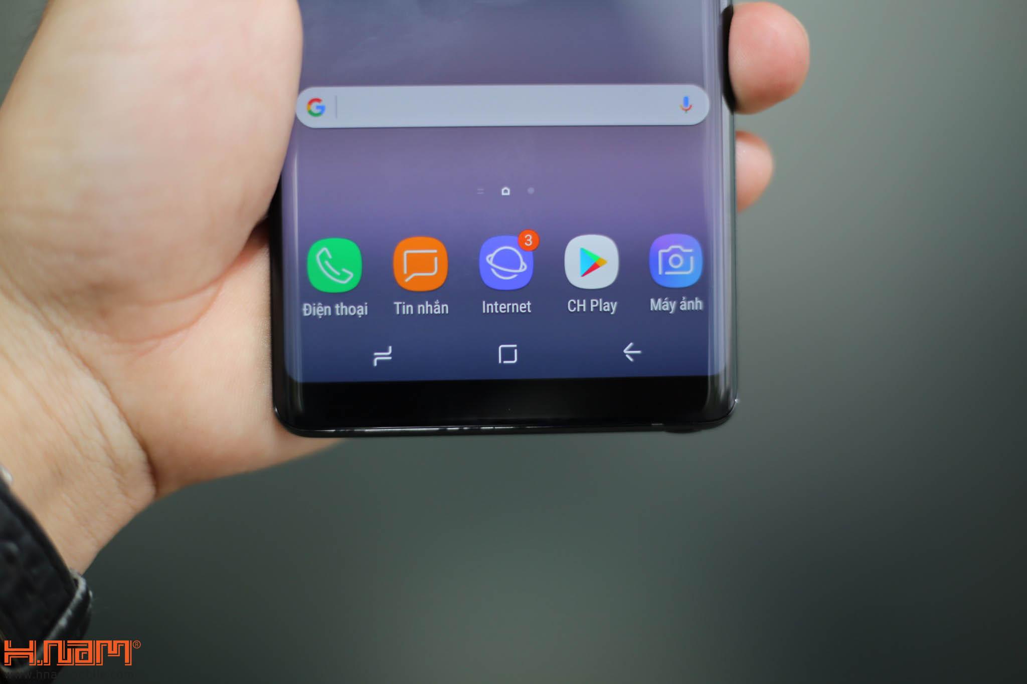 Đập hộp và trên tay Galaxy Note8 chính hãng tại Việt Nam hình 7