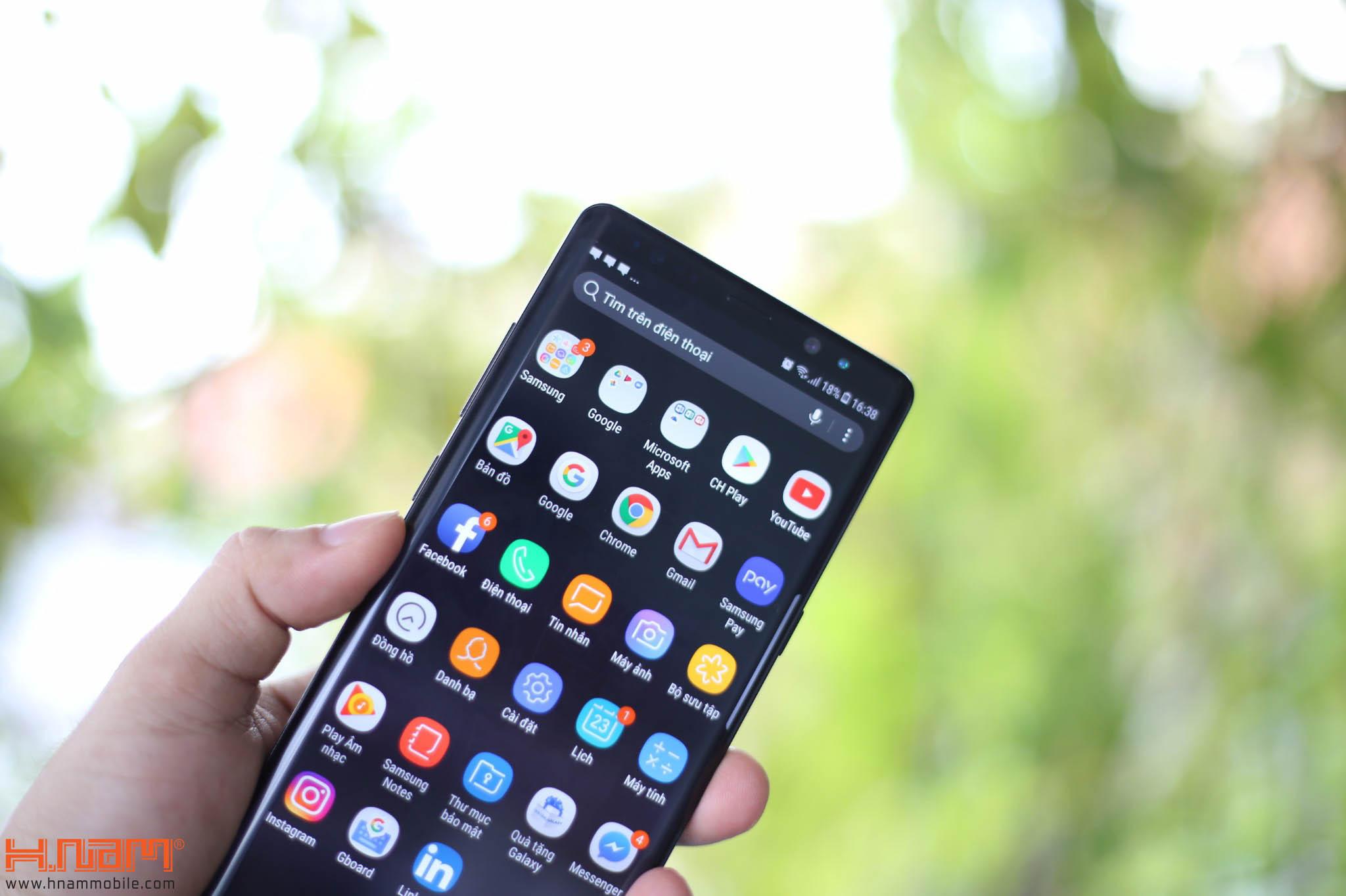 Đập hộp và trên tay Galaxy Note8 chính hãng tại Việt Nam hình 15