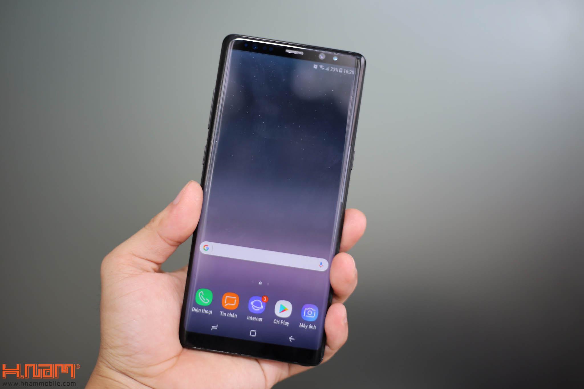 Đập hộp và trên tay Galaxy Note8 chính hãng tại Việt Nam hình 5