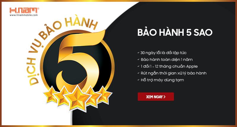 Hnam Mobile nâng cấp Dịch vụ bảo hành 5 sao hình 1