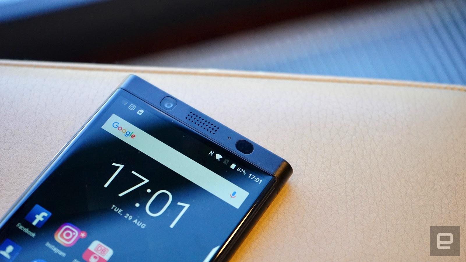 [IFA 2017]- BlackBerry KEYone phiên bản màu đen xuất hiện, 4GB RAM hình 1