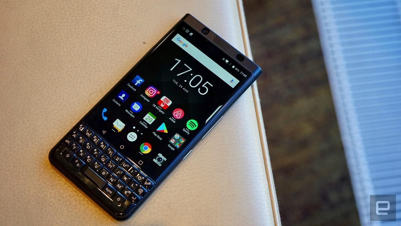 [IFA 2017]- BlackBerry KEYone phiên bản màu đen xuất hiện, 4GB RAM hình 3
