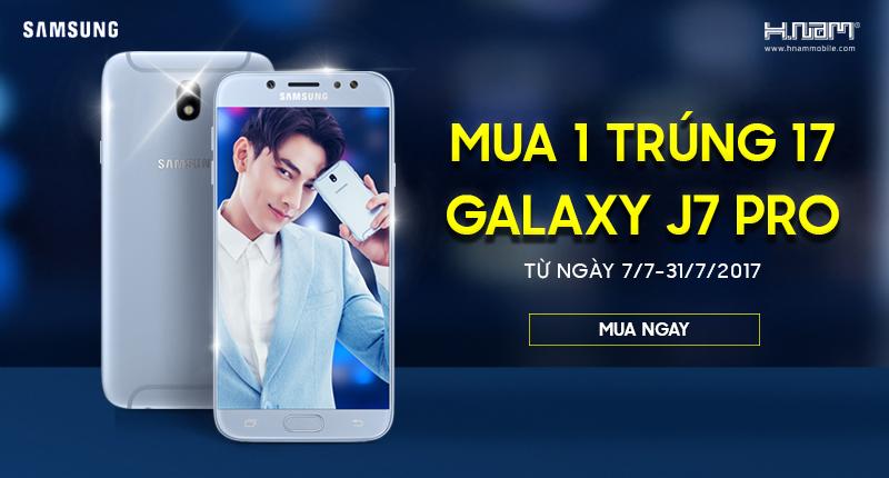 Duy nhất tại Hnam: Mua 1 trúng 17 điện thoại Samsung Galaxy J7 Pro hình 1