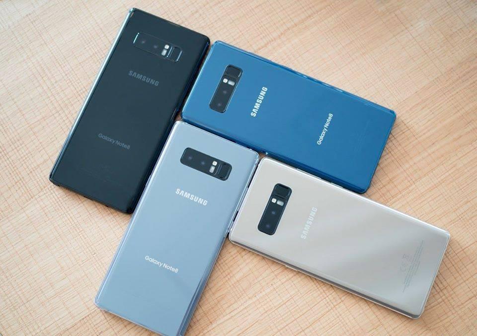 Đặt gạch Galaxy Note 8: nhận ngay quà 4 triệu, bảo hành 2 năm, bảo hiểm rơi vỡ, trả góp 0% hình 3