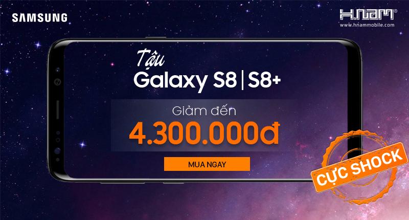 Tậu Galaxy S8, S8 plus: Giảm đến 4.300.000đ hình 1