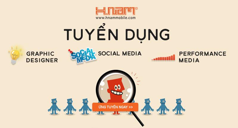 Hnam Mobile tuyển dụng: Social Media,Performance Media, Ads Designer hình 1