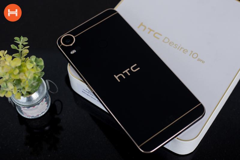 Mở hộp HTC Desire 10 Pro: Thiết kế đậm chất HTC, có RAM 4GB, camera 20 chấm. Phân khúc giá tầm trung. hình 1