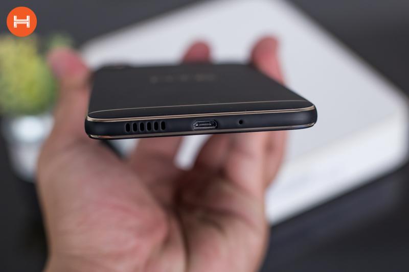 Mở hộp HTC Desire 10 Pro: Thiết kế đậm chất HTC, có RAM 4GB, camera 20 chấm. Phân khúc giá tầm trung. hình 10
