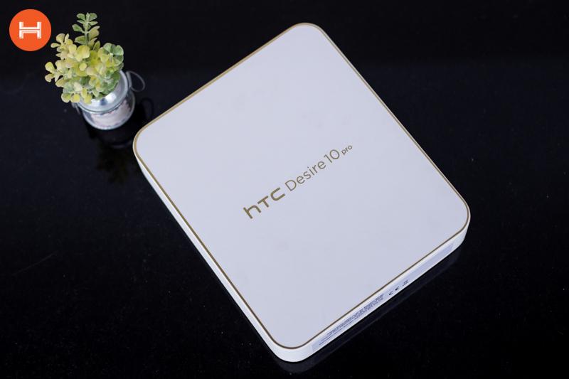 Mở hộp HTC Desire 10 Pro: Thiết kế đậm chất HTC, có RAM 4GB, camera 20 chấm. Phân khúc giá tầm trung. hình 2
