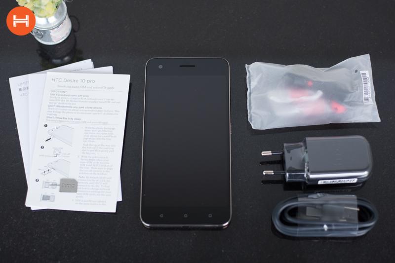 Mở hộp HTC Desire 10 Pro: Thiết kế đậm chất HTC, có RAM 4GB, camera 20 chấm. Phân khúc giá tầm trung. hình 3