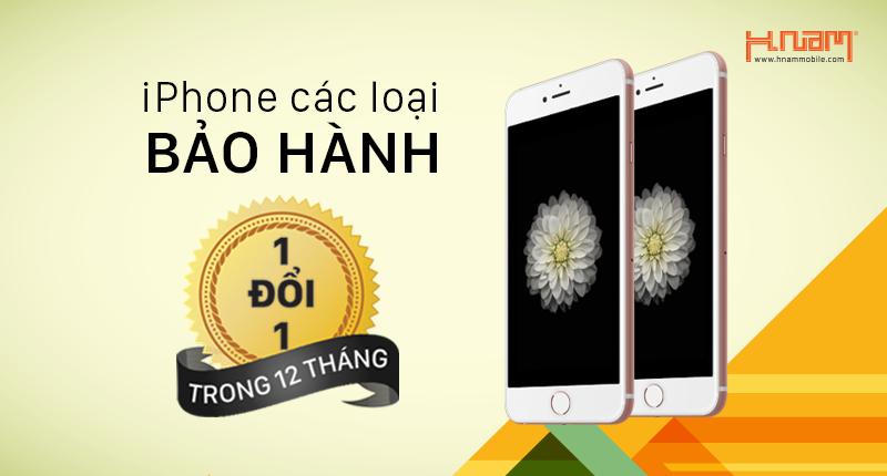 Thông báo iPhone tại Hnam chính thức được bảo hành 1 đổi 1 trong 12 tháng hình 1