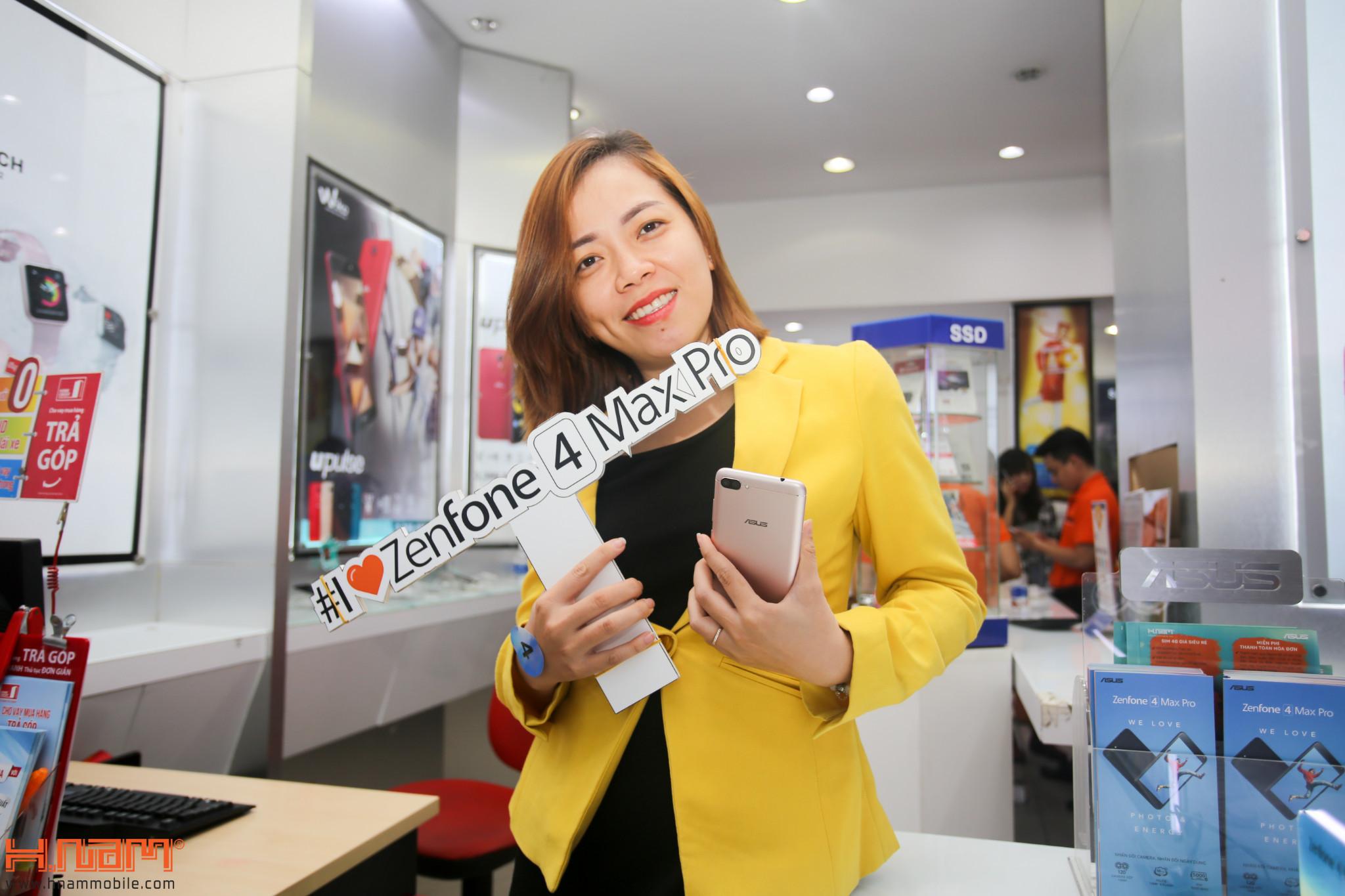 Mở bán ZenFone 4 Max Pro: Quà hơn 2 triệu, cơ hội trúng laptop hình 1