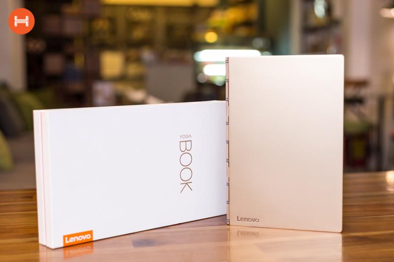 Mở hộp Lenovo Yoga Book: Thiết kế tablet lai laptop, bàn vẻ cảm ứng lực thích hợp cho họa sĩ. hình 9